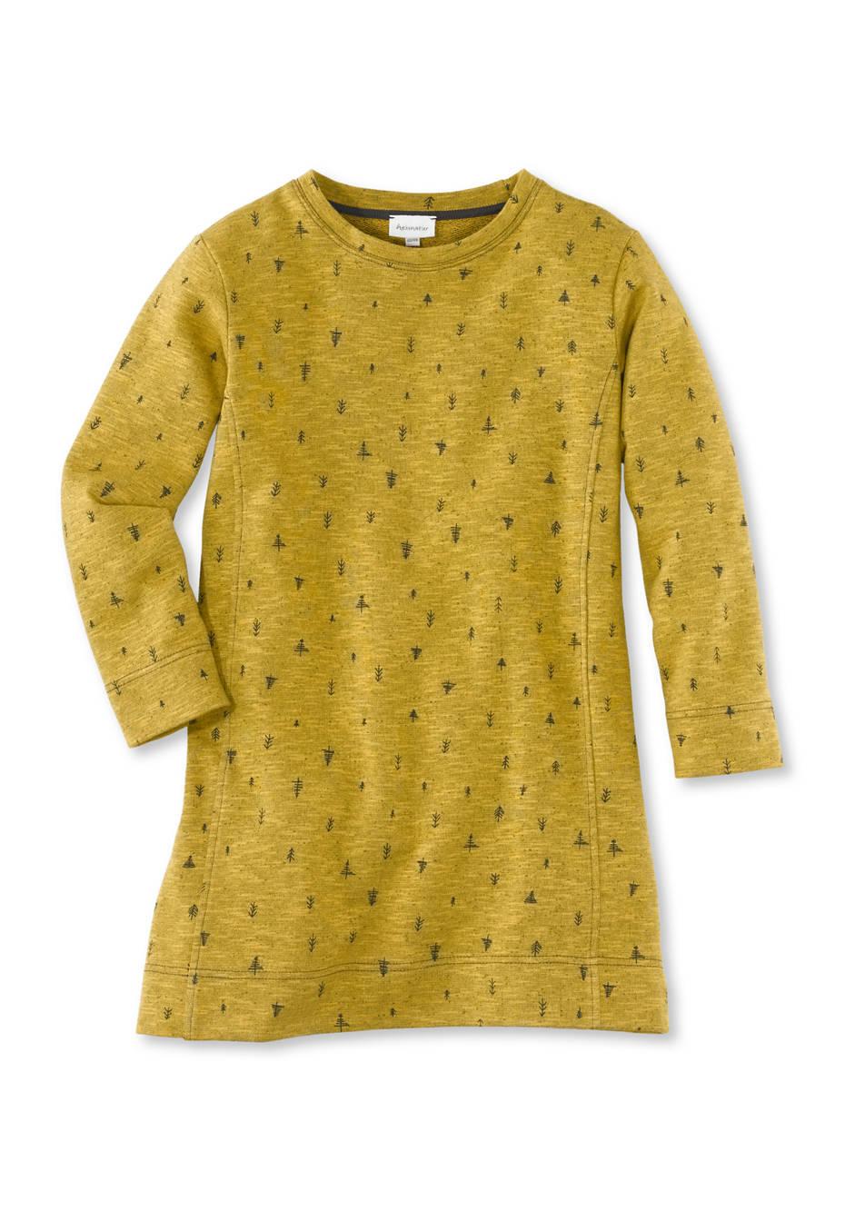 Sweatkleid aus Baumwolle