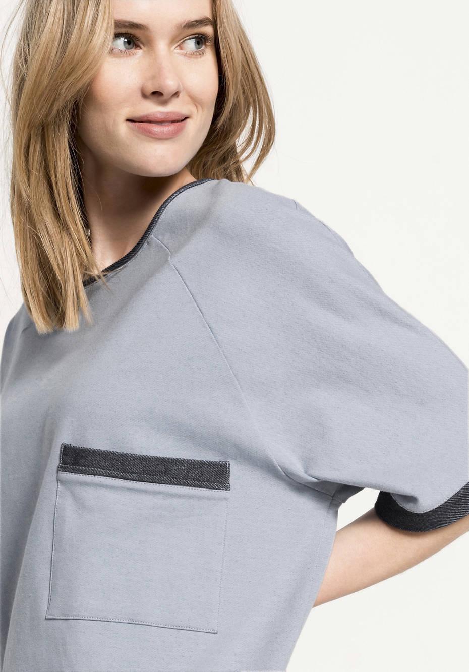 Sweatkleid aus Bio-Baumwolle