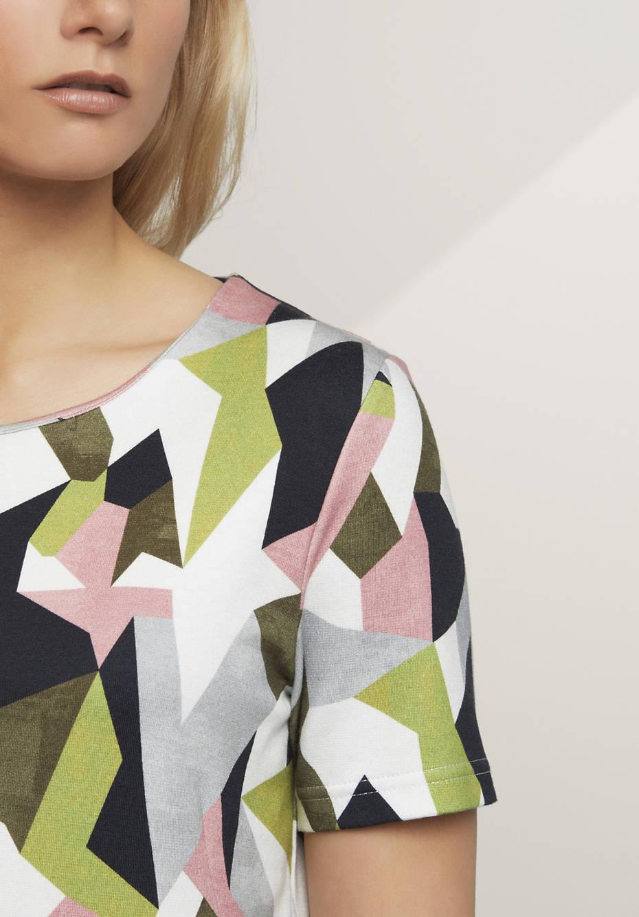 Sweatshirt aus Bio-Baumwolle mit Modal