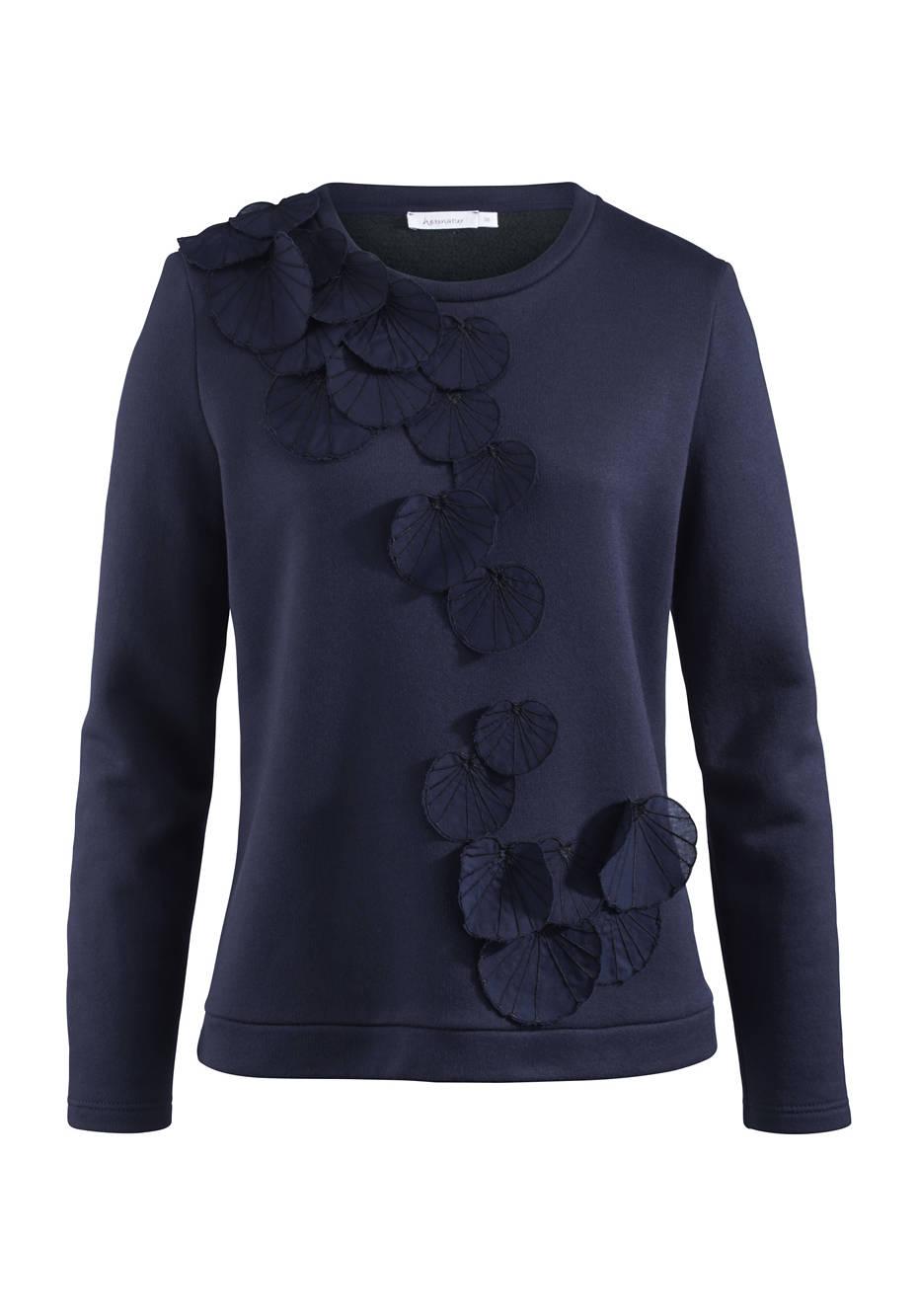 Sweatshirt aus Modal mit Bio-Baumwolle