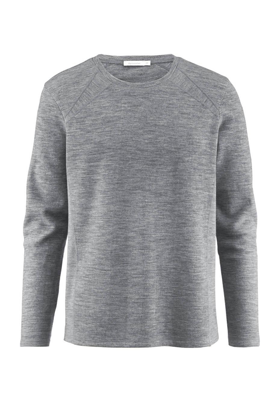 Sweatshirt aus reiner Bio-Merinowolle