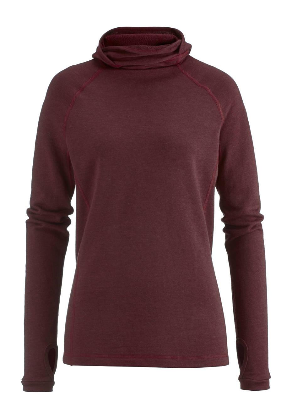 Sweatshirt aus reiner Bio-Schurwolle