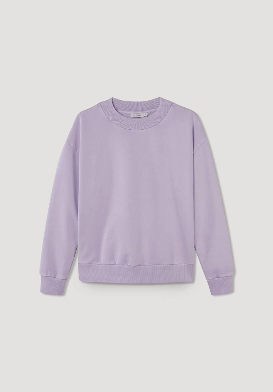 Sweatshirt mineralgefärbt aus reiner Bio-Baumwolle