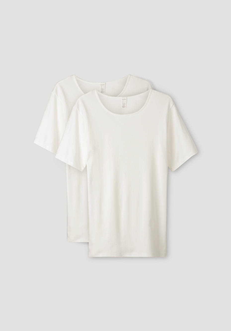 T-Shirt PureDAILY im 2er Set aus reiner Bio-Baumwolle