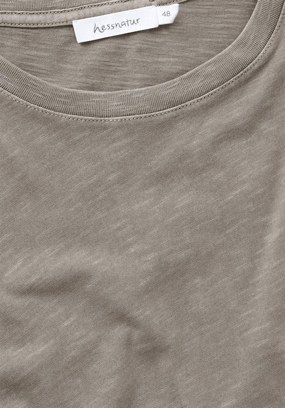 T-Shirt mineralgefärbt aus reiner Bio-Baumwolle