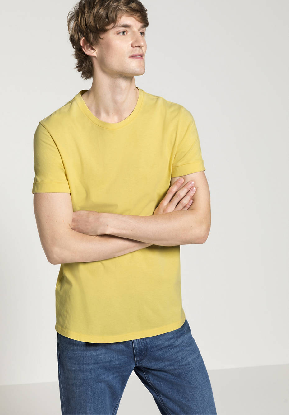 T-shirt plant-dyed made of pure organic cotton