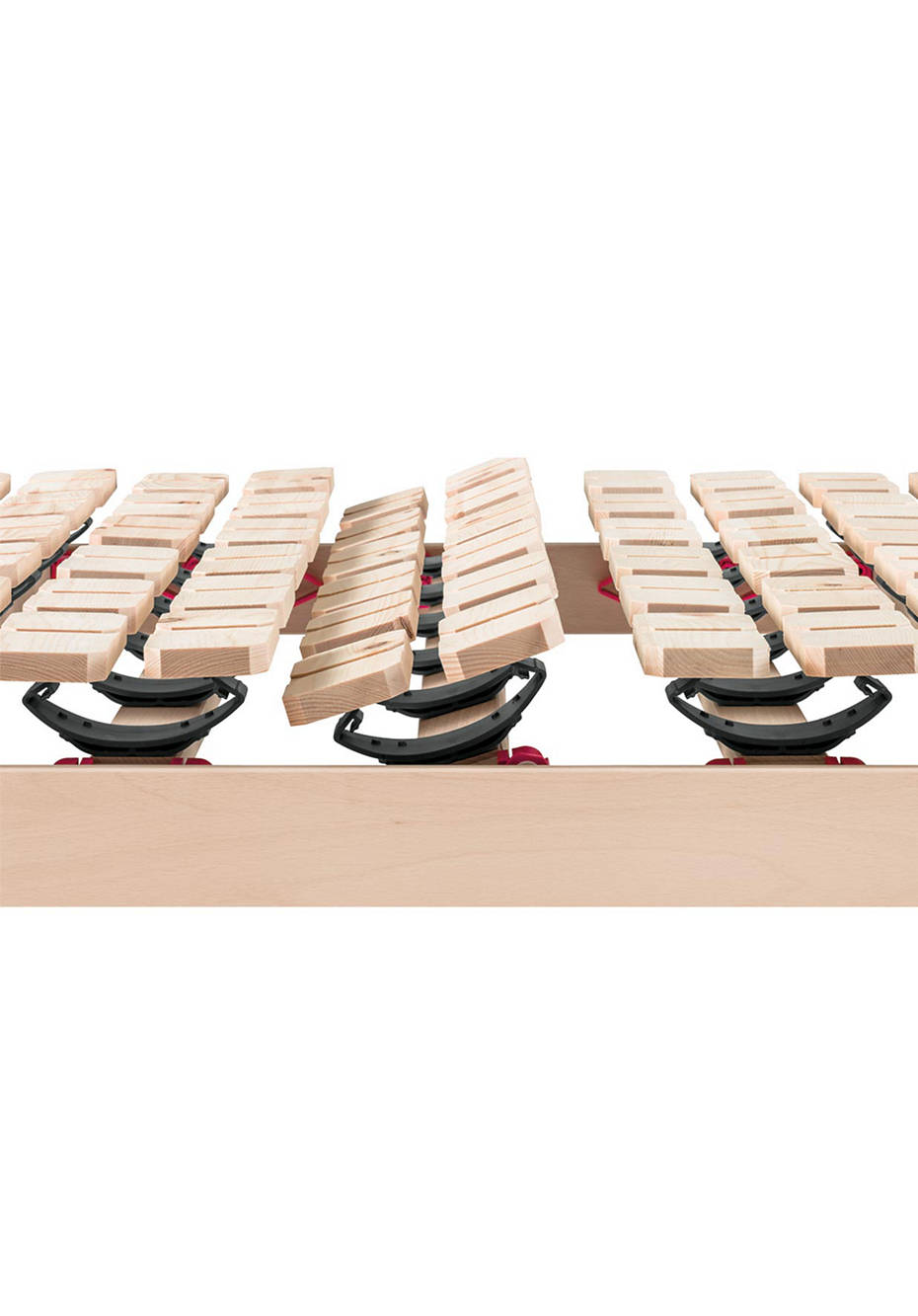 Teller-Lattenrost aus Zirbenholz