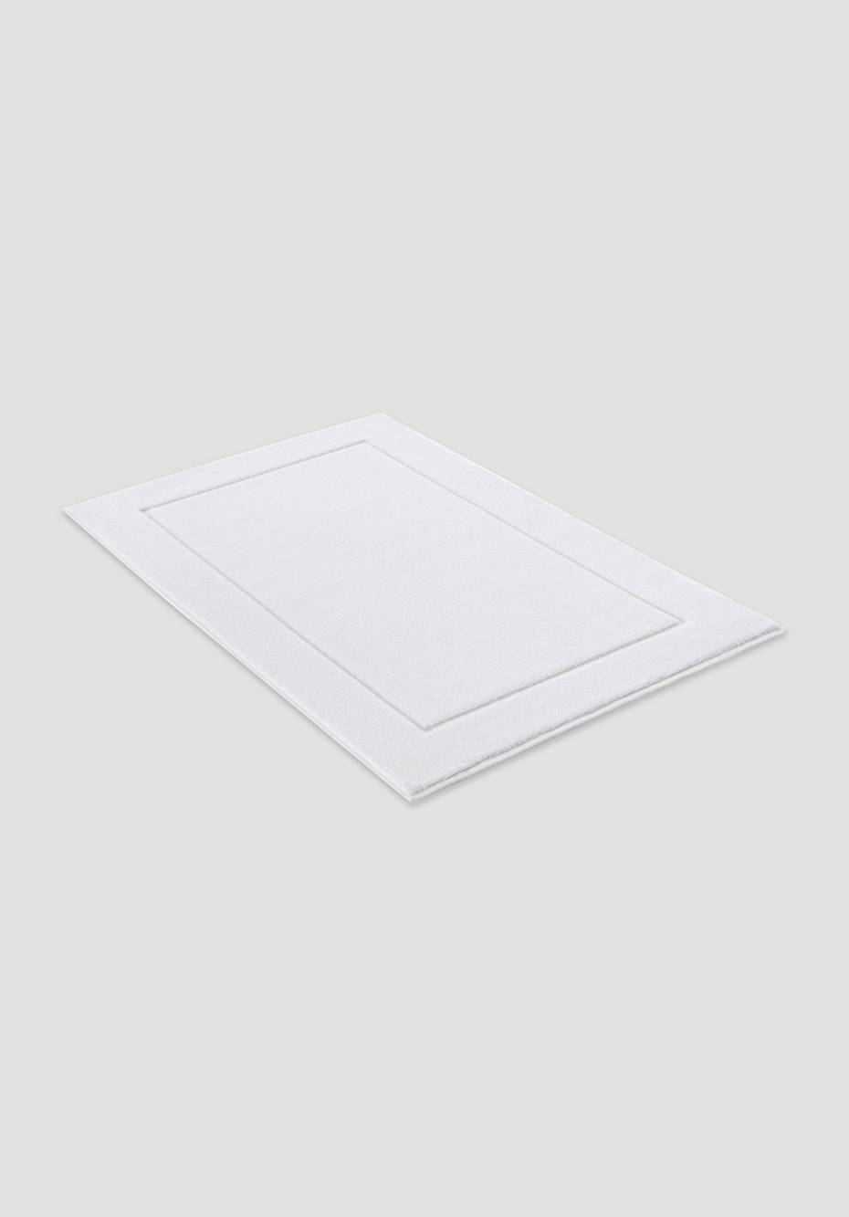 Terry bath mat super soft