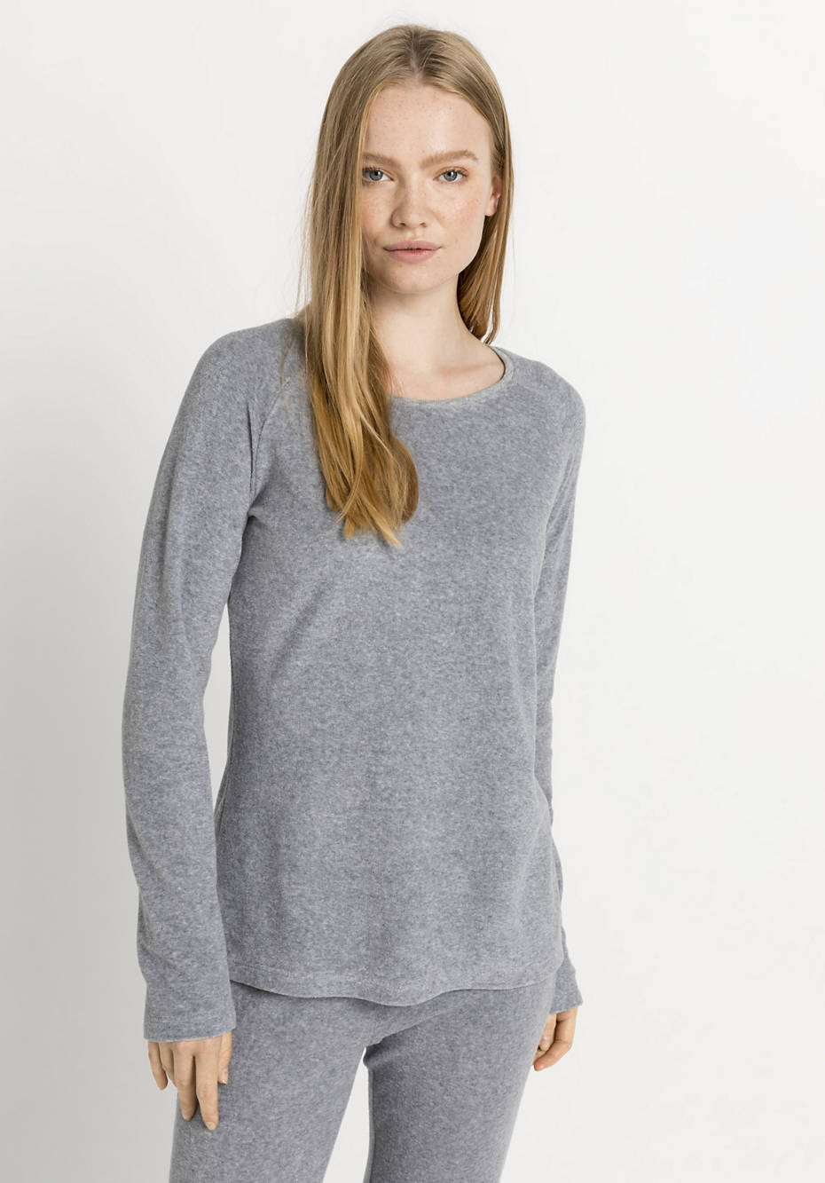 Terrycloth shirt made from pure organic cotton