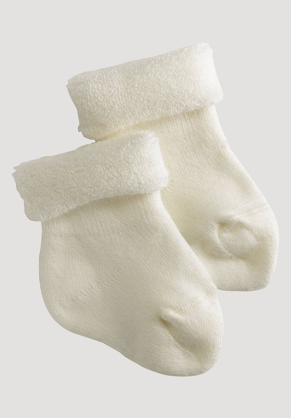 Terrycloth socks in a 2-pack made of organic cotton