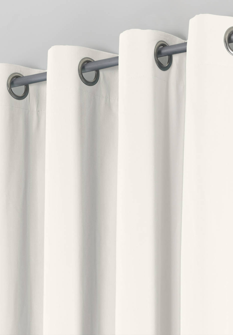 Thermal curtain Neveres with eyelets made of pure organic cotton