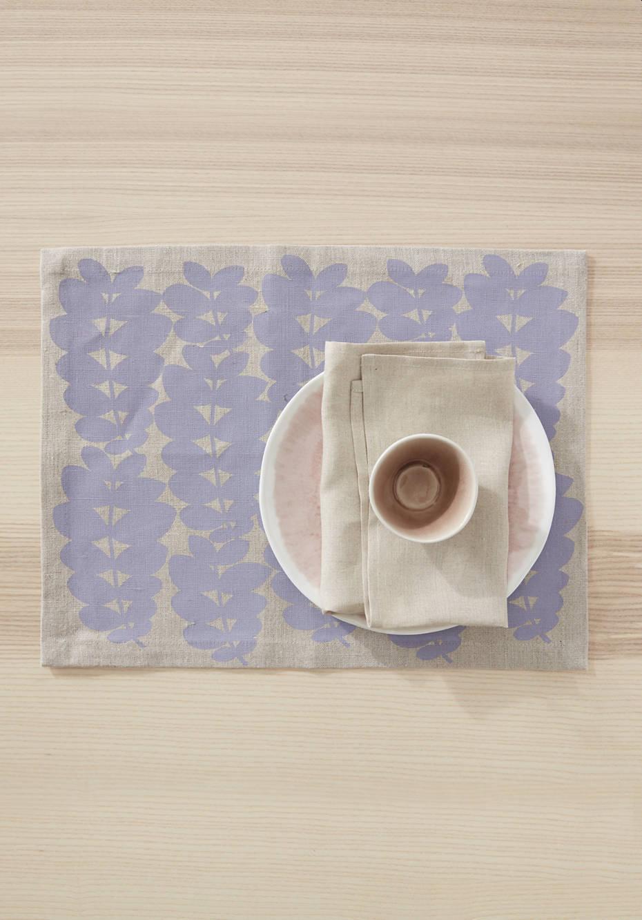 Tischset Follini aus reinem Hessen-Leinen