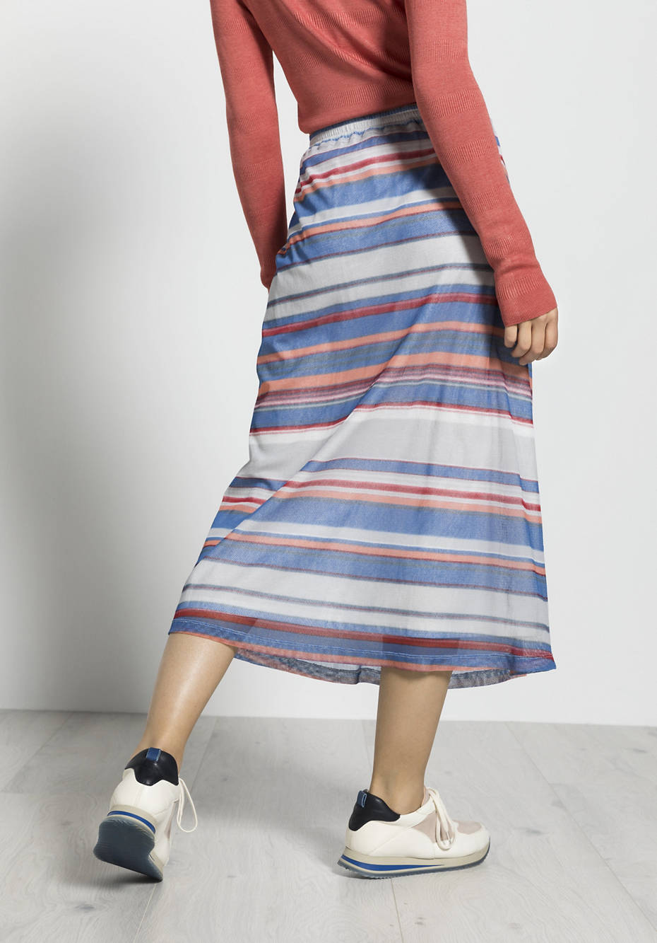 Tulle skirt made of pure organic cotton