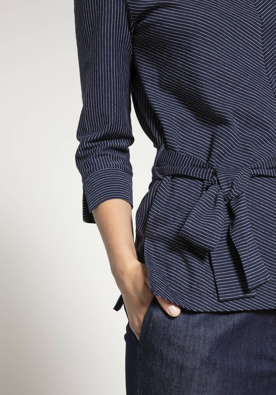 Tunika-Shirt aus reiner Bio-Baumwolle