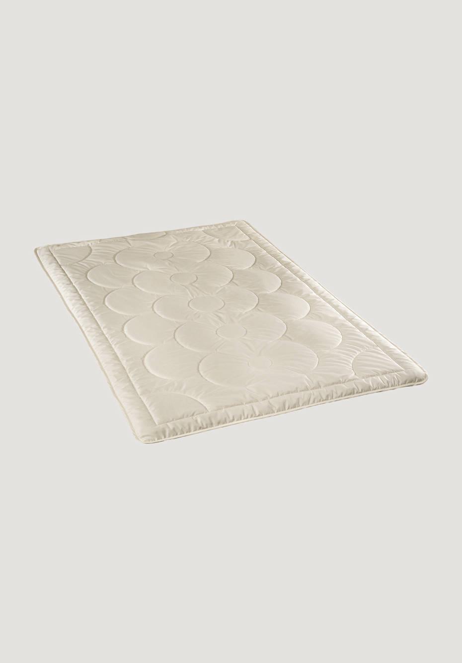 Tussah silk summer blanket