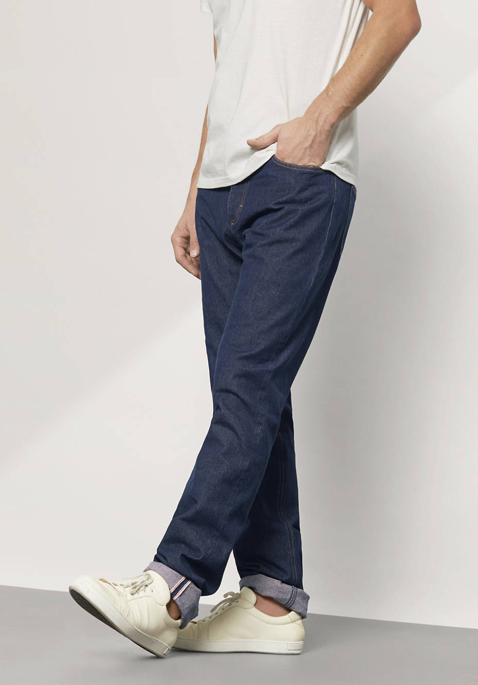 Unisex Jeans Selvedge aus reiner Bio-Baumwolle