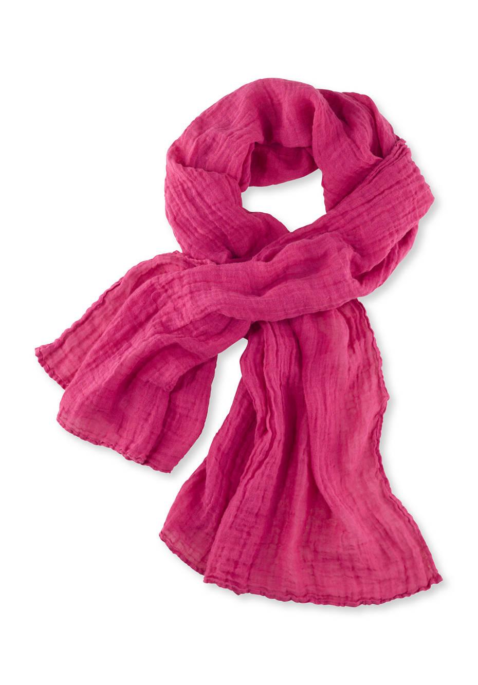 Unisex Schal aus reinem Leinen
