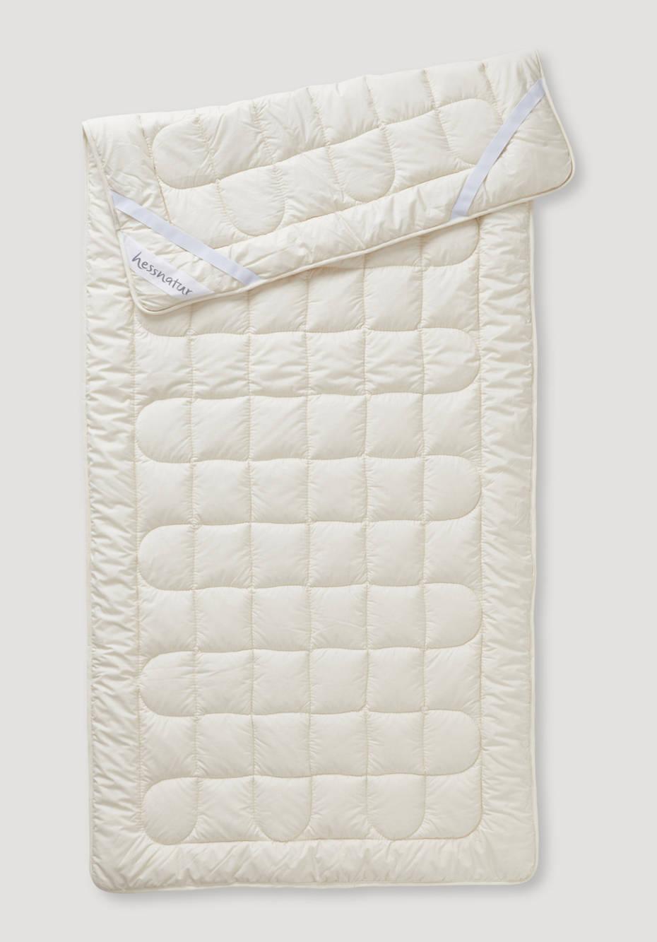 Unterbett Comfort aus reiner Bio-Baumwolle