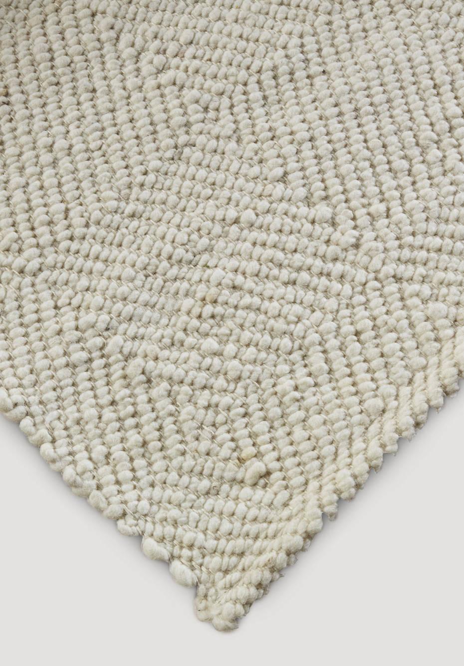 Virgin wool ruga from the dyke sheep