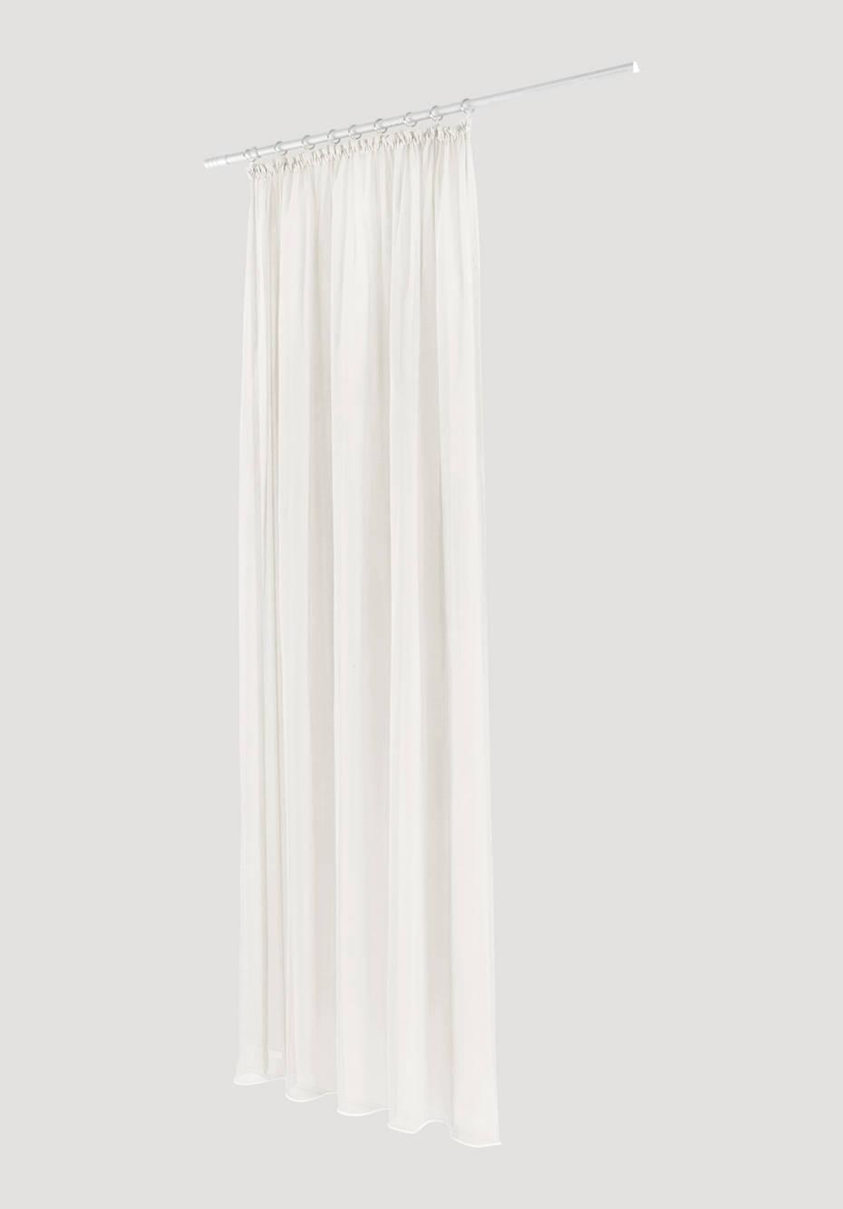 Vorhang Marc mit Gardinenband aus reiner Bio-Baumwolle