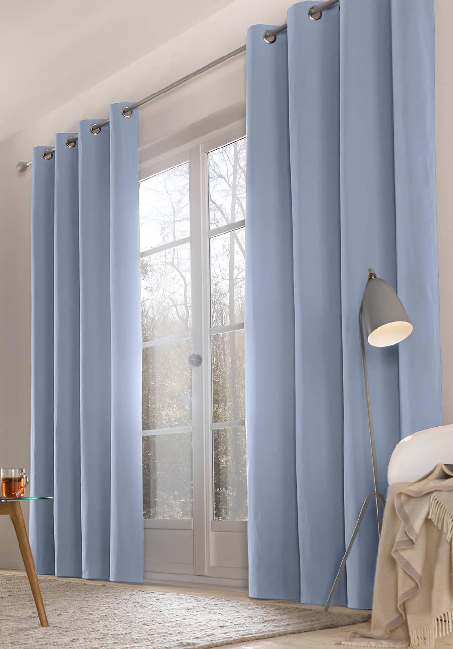 vorhang neveres mit sen aus reiner bio baumwolle hessnatur deutschland. Black Bedroom Furniture Sets. Home Design Ideas
