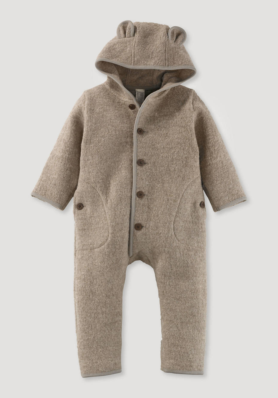 Walk overall made from pure organic merino wool