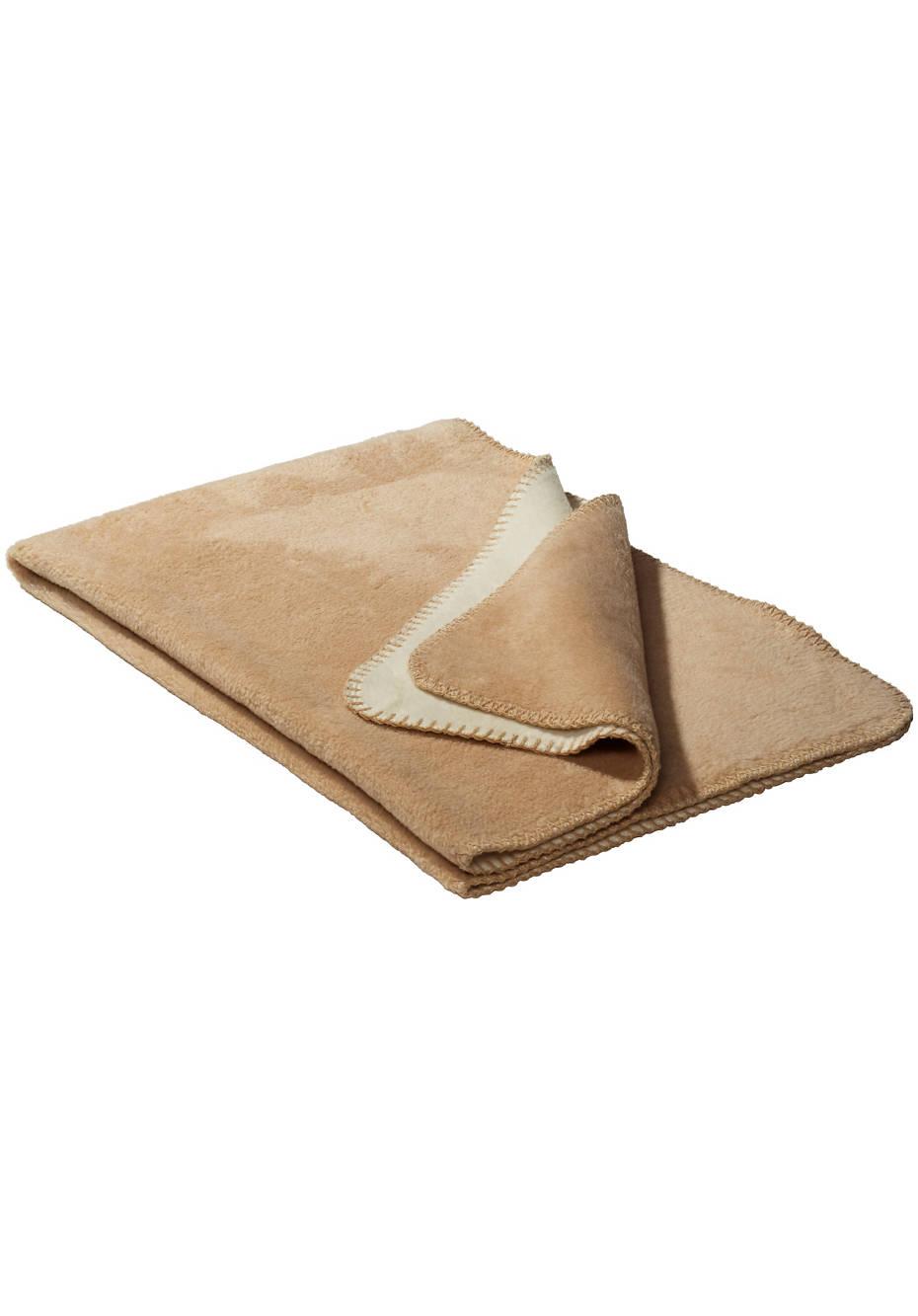 Wende-Decke aus reiner Bio-Baumwolle
