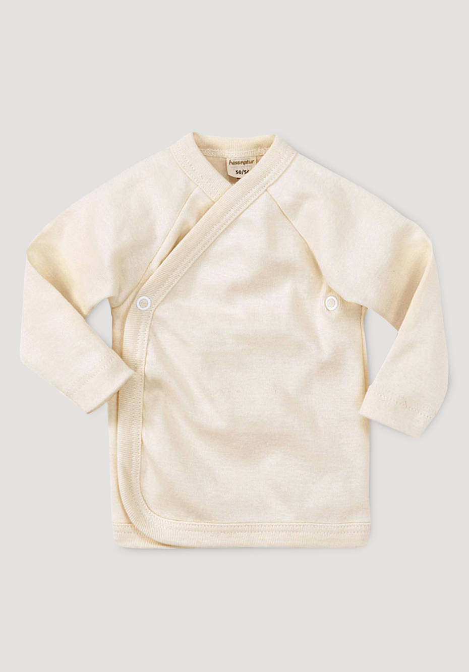 Wickelhemd aus reiner Bio-Baumwolle