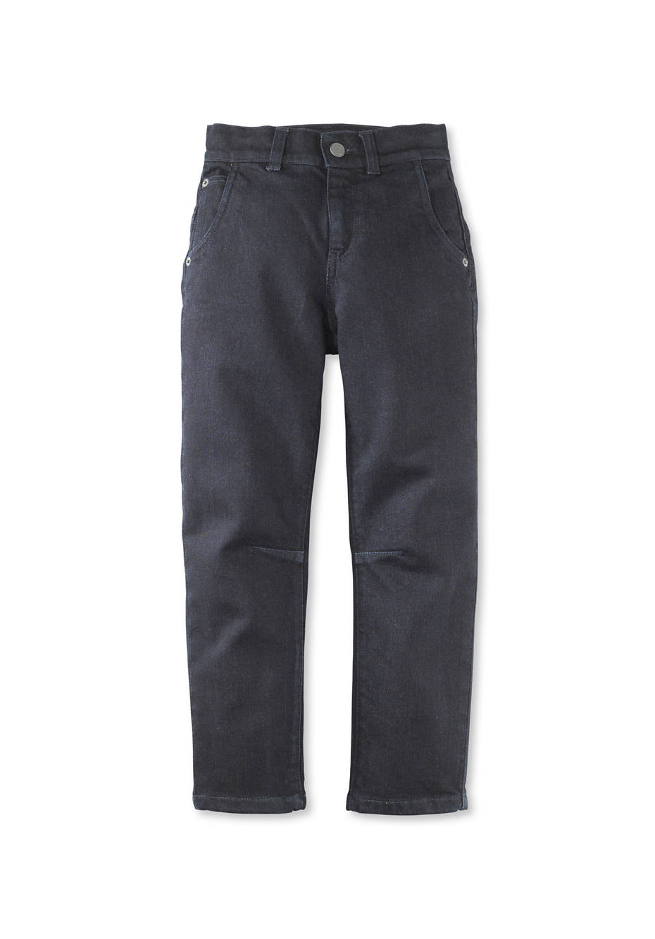 Wolldenim Jeans aus Bio-Baumwolle mit Schurwolle