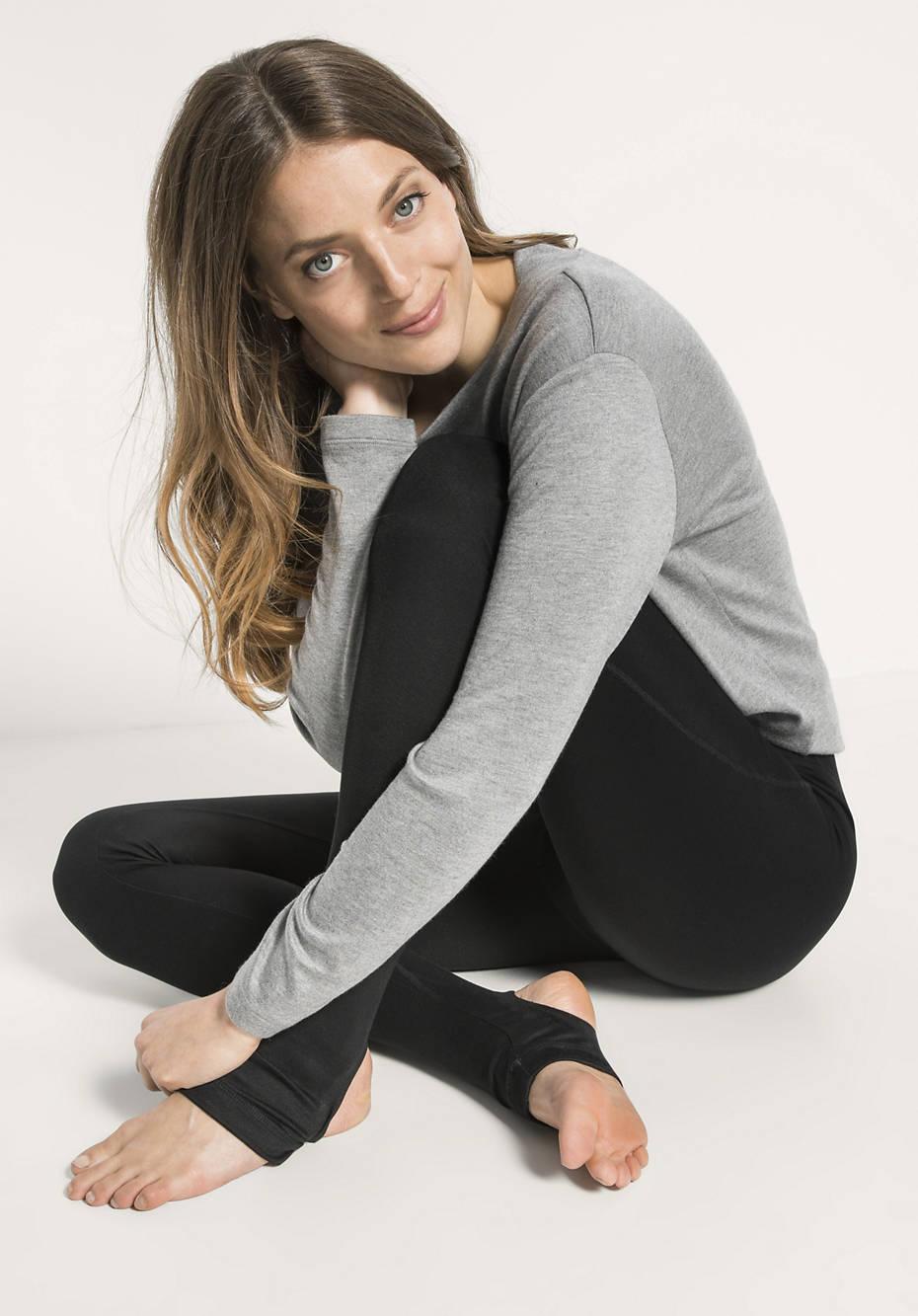 Yoga-Leggings aus Modal