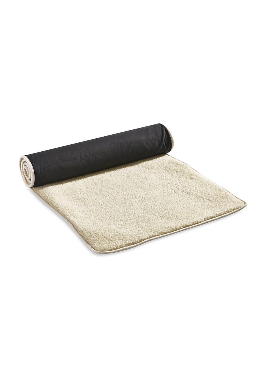 Yogamatte Lammflor in Bio-Qualität
