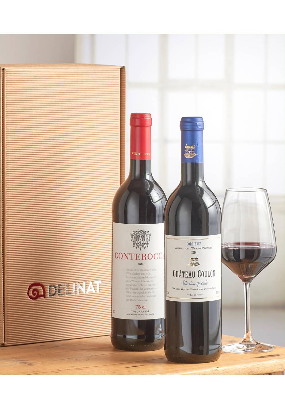 Zwei Bio-Weine von Delinat