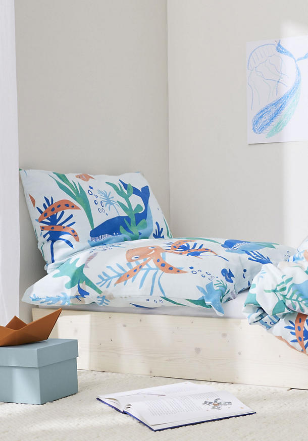Beaver bed linen made from pure organic cotton