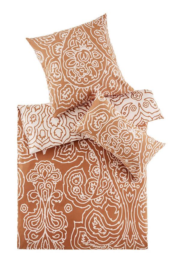 Biber-Bettwäsche Indira aus reiner Bio-Baumwolle