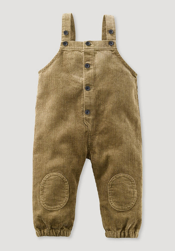 Cord dungarees made of organic cotton with hemp