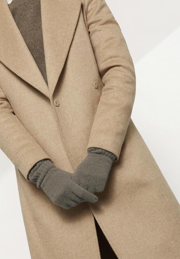 Damen Handschuhe aus reiner Yak-Wolle
