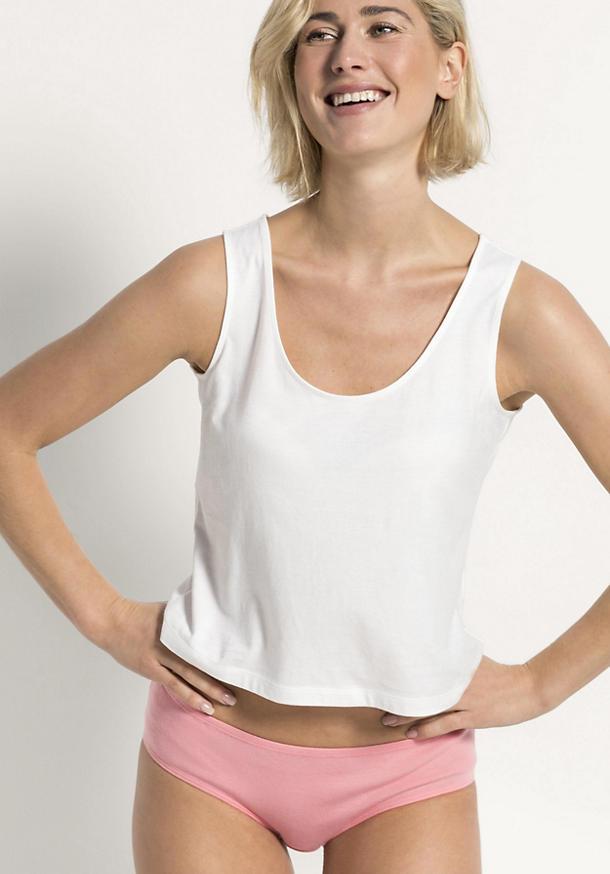 Damen Top aus reiner Bio-Baumwolle