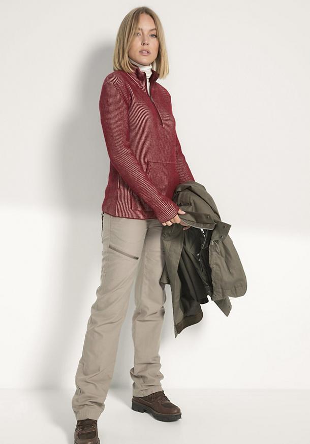 Damen Troyer aus Bio-Baumwolle und Lambswool