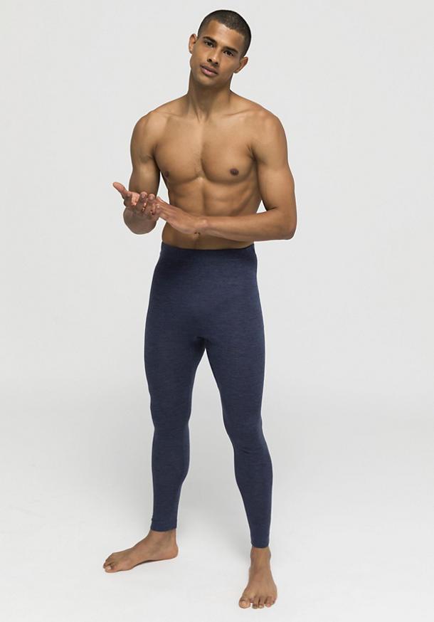 Herren Lange Pants PureMIX aus Bio-Merinowolle und Seide
