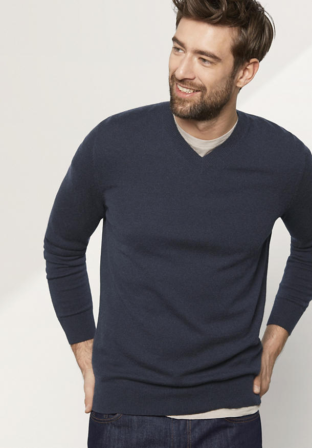 Herren Pullover aus reinem Kaschmir