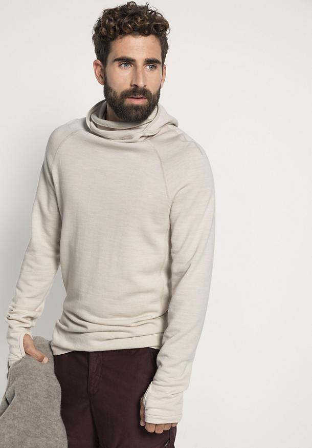 Herren Sweatshirt aus reiner Bio-Merinowolle