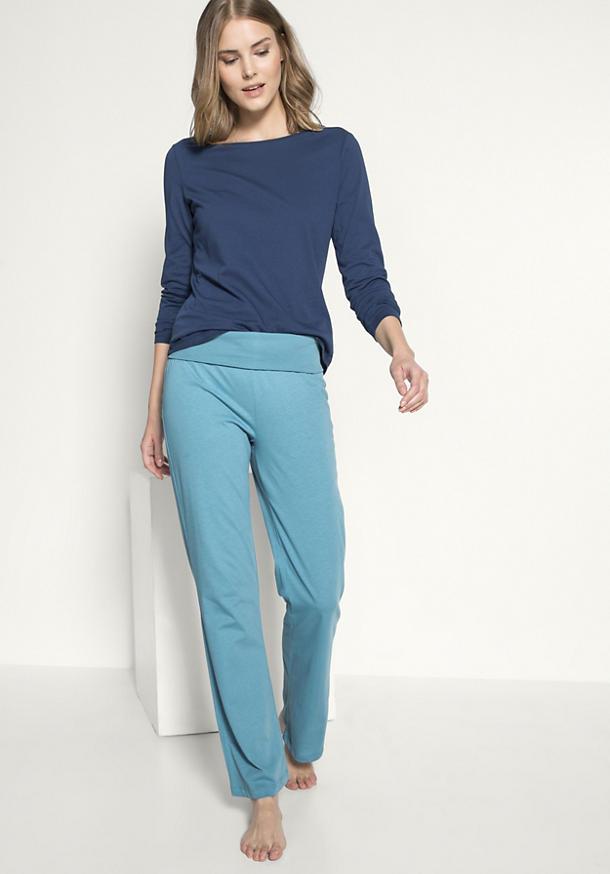 Hose aus Bio-Baumwolle mit Kapok