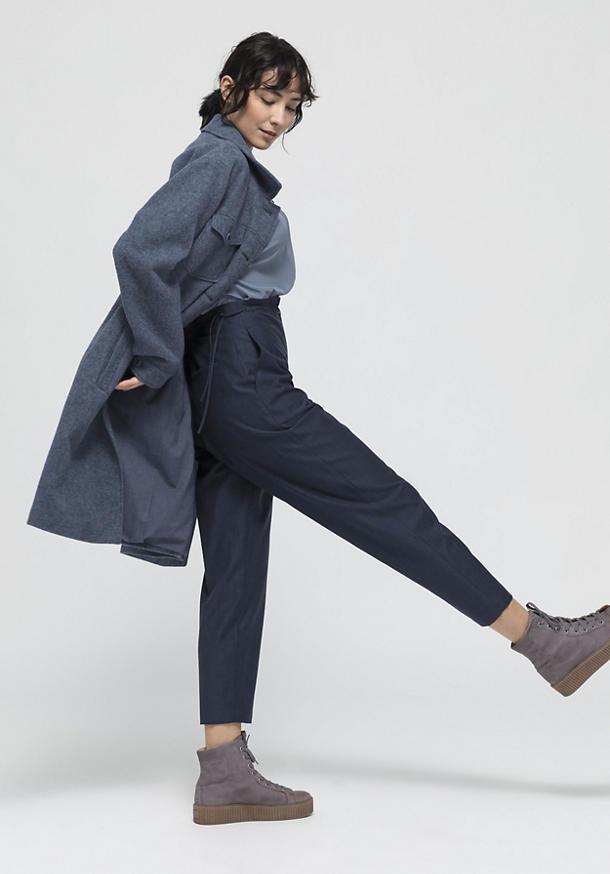 Hose aus Bio-Merinowolle mit Bio-Baumwolle