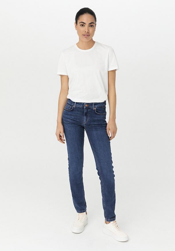 Jeans Lina Skinny Fit aus Bio-Denim