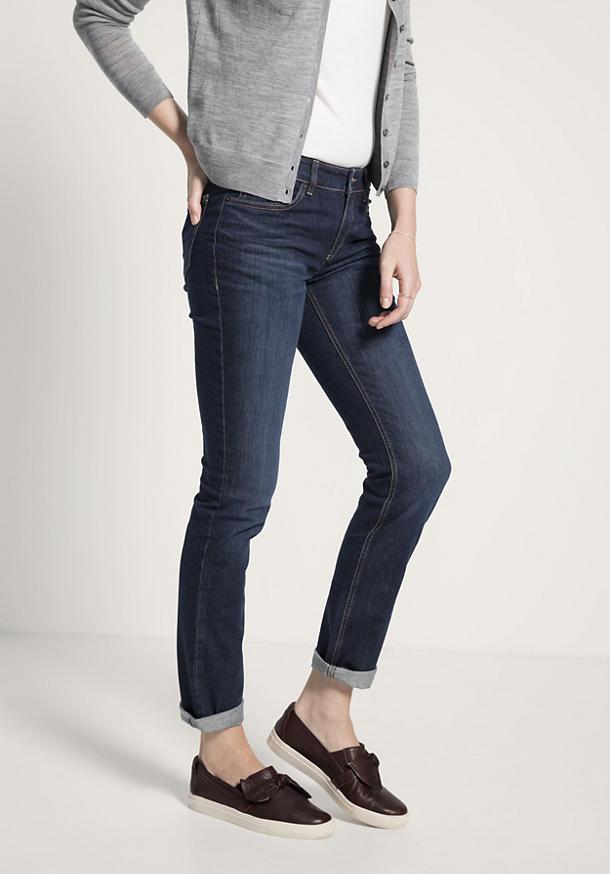 Jeans Straight Fit aus reinem Bio-Denim