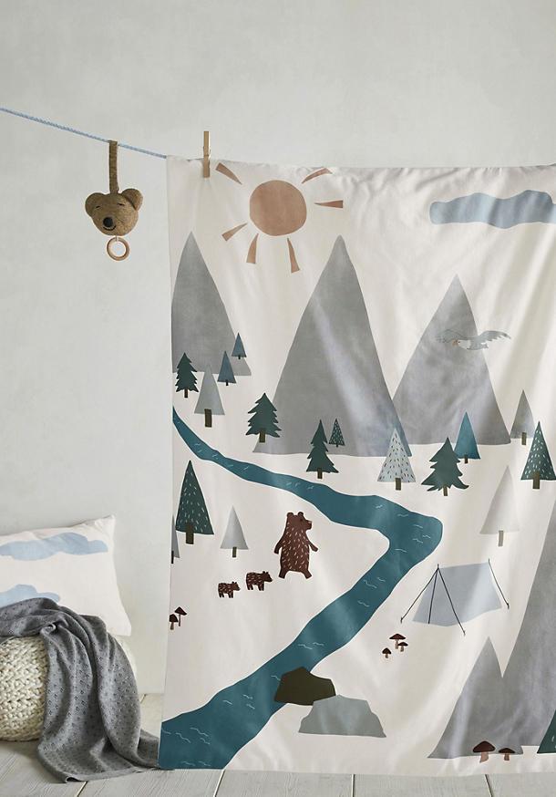 Jersey Bettwäsche für Kinder aus reiner Bio-Baumwolle