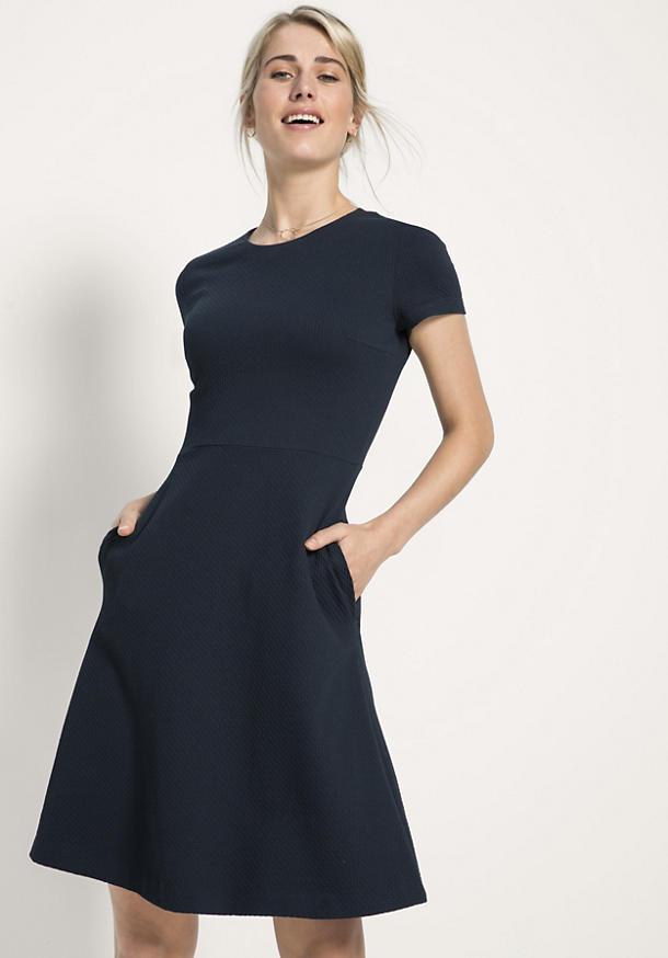 Jersey-Kleid aus Bio-Baumwolle - hessnatur Deutschland
