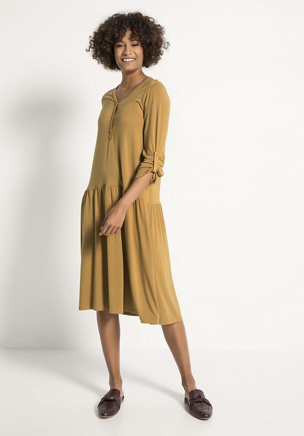 Jersey-Kleid aus TENCEL™Modal