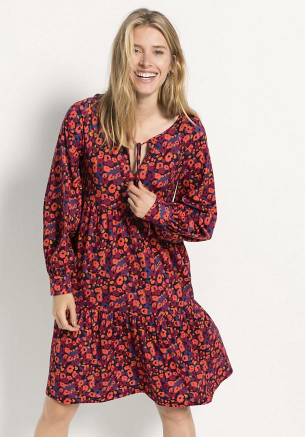 Jersey-Kleid aus reiner Bio-Baumwolle