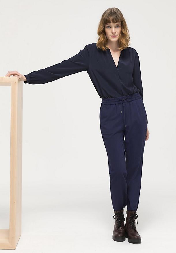 Jogging pants made of organic cotton
